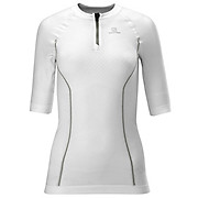 Salomon Exo Motion 1-2 Zip Womens Tee SS13