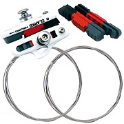 Clarks 55mm Road Brake Pads + Free Gear Cables