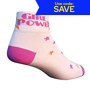 SockGuy Girl Power Womens Socks 2013