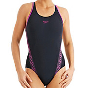 Speedo Monogram Muscleback Swimsuit AW13