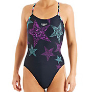 Speedo ArrowJet Placement Rippleback Swimsuit AW13
