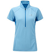 Ronhill Womens Trail S-S Zip Tee SS13