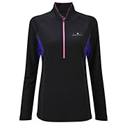 Ronhill Womens Trail L-S Zip Tee SS13