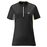 Salomon Womens Trail Zip Tee Shirt SS13