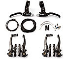 Clarks V-Brake Calipers + Levers Set