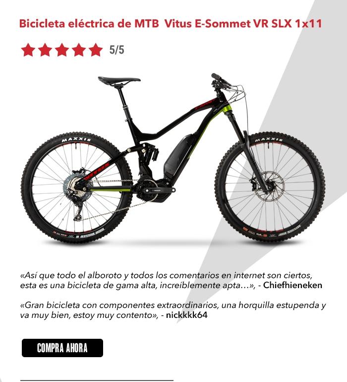 b0d4fb066 Vitus E-Sommet VR Electric MTB (SLX 1x11) 2019 | Chain Reaction Cycles