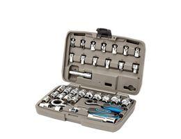 LifeLine X-Tools 34 Piece Go-Through Socket Set