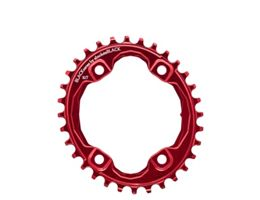 BLACK by Absoluteblack Narrow Wide Oval XT M8000 Chainring