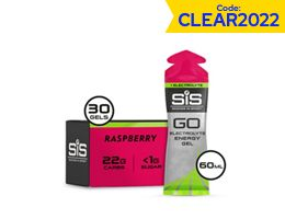 Science In Sport Go Energy + Electrolyte Gels 30 x 60ml