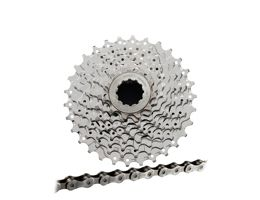 Shimano Sora HG50 9sp Cassette + Chain Bundle