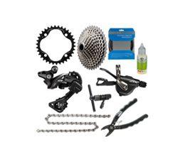 Shimano XT 1x11sp Gear Kit Bundle