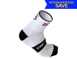 Castelli Rosso Corsa Sock 9cm AW19