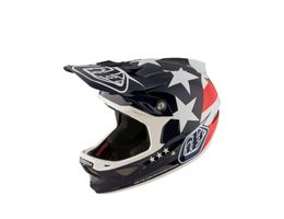 Troy Lee Designs D3 Carbon MIPS Helmet - Freedom Blue