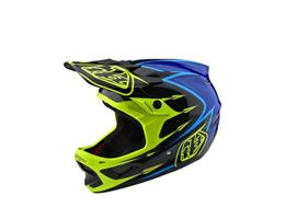 Troy Lee Designs D3 Composite Helmet - Corona Flo 2018