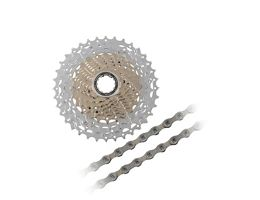 Shimano SLX HG81 10sp Cassette + Chain Bundle