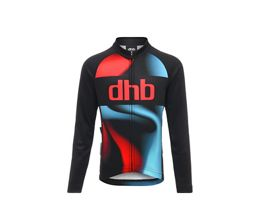 dhb Kids Long Sleeve Jersey - Logo AW18