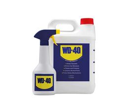 WD40 Multi Purpose Product & Spray Bottle 5L