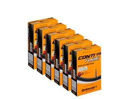 Continental Quality Road 25-32c Inner Tube 6 Pack
