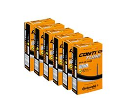 Continental Quality Road Inner Tube 6 Pack 20-25c