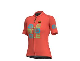 Alé Womens Solid MC Mirror Jersey SS19