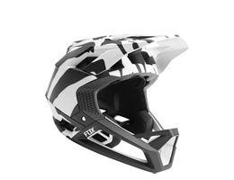 Fox Racing Proframe Helmet Zebra LE 2019