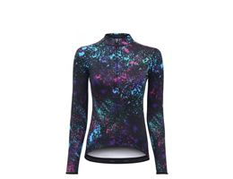 dhb Blok Womens Long Sleeve Jersey - Moss AW19