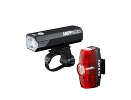 Cateye Ampp 500 & Rapid Mini Front & Rear Light
