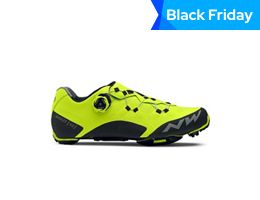 Northwave Ghost XC MTB Shoes Yellow Fluo 2019