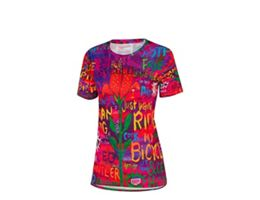 Cycology Womens See Me Technical Tshirt SS20
