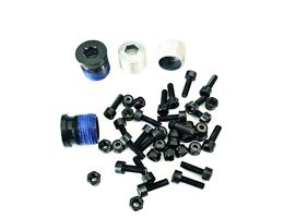 OneUp Components Composite Pedal Pin and Cap Kit