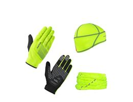 GripGrab Hi Viz Cycling Essentials Kit 2020