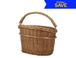 Rixen Kaul Wicker Mini Front Basket