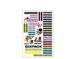 Sixpack Racing A5 Sticker Kit