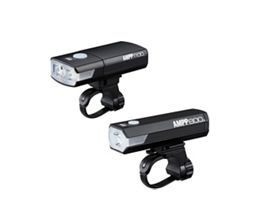 Cateye Ampp 1100 & Ampp 800 Combo Light Set
