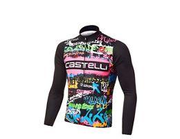 Castelli Graffiti Thermal LS Jersey Ltd Ed