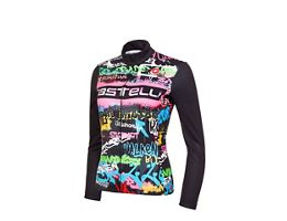 Castelli Womens Graffiti Thermal LS Jersey Ltd AW20
