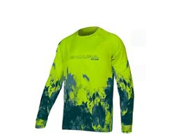 Endura MT500 Ink Long Sleeve Cycling Jersey