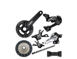 Shimano MT600 2x11 XT-SLX Mix Groupset