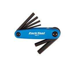 Park Tool Folding Allen Key Set AWS-11