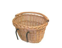 Basil Wicker Oval Front Basket