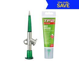 Weldtite TF2 Grease Gun With Teflon Bike Grease
