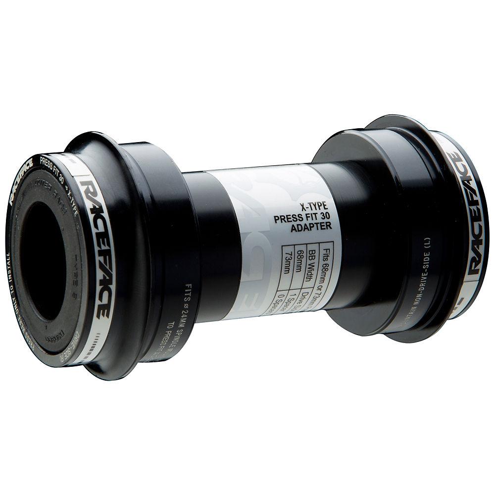 Image of Adaptateur Boîtier de pédalier VTT/Route Race Face Press Fit 30 X-Type - Noir - 68/73mm, Noir