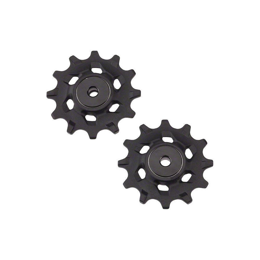 Sram Xx1-x01-x1 Ceramic Jockey Wheels - Black  Black