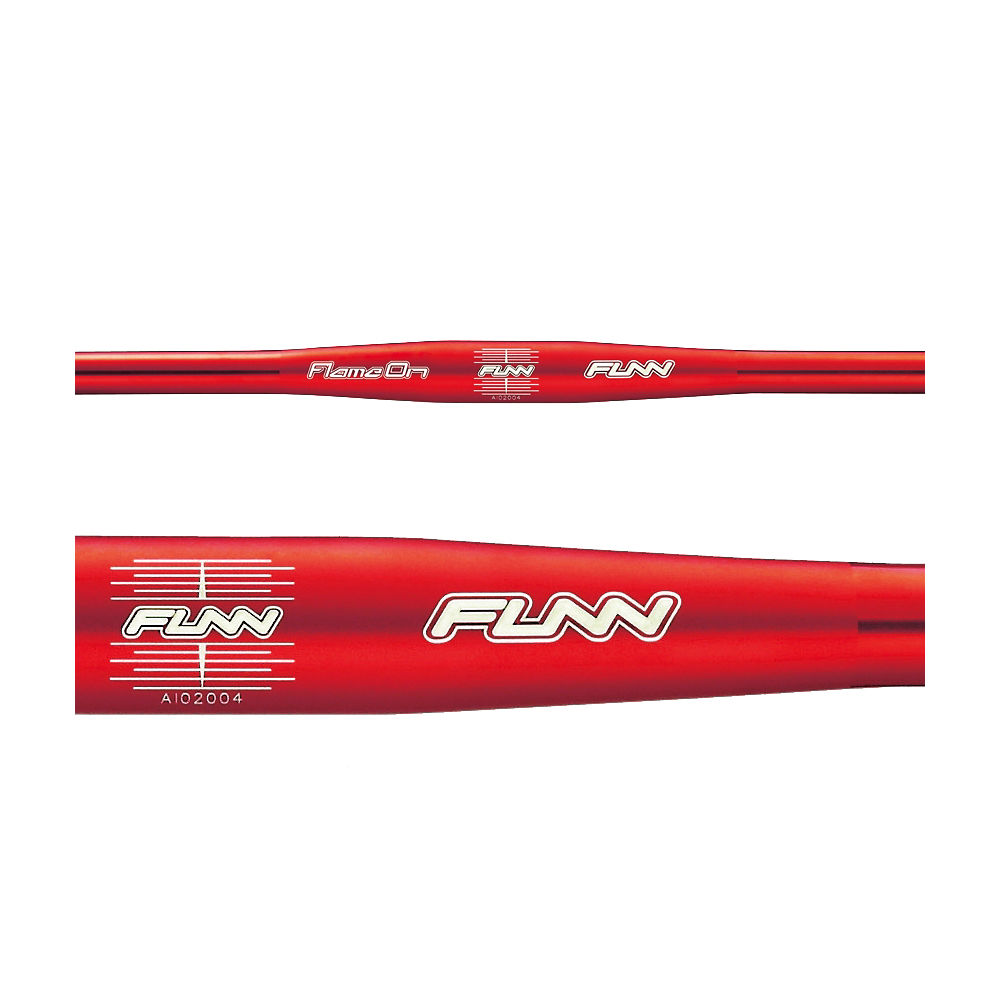 Image of Cintre plat Funn Flame On - Rouge - 31.8mm, Rouge