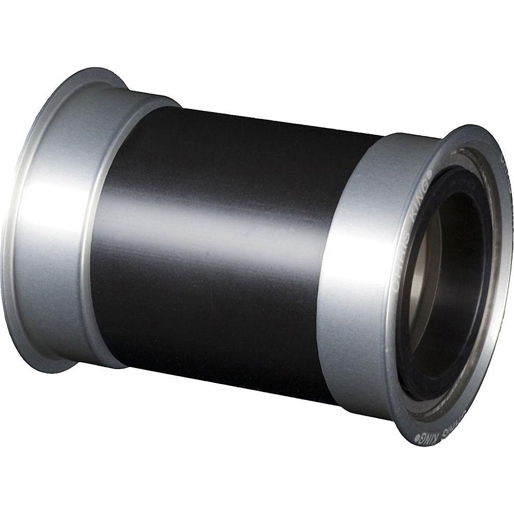 Image of Boîtier de pédalier VTT/Route Chris King Press Fit 30 - Argent - 68/73mm