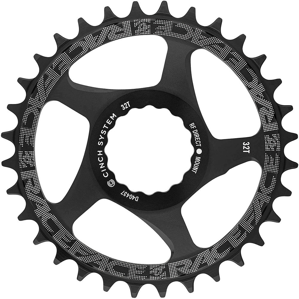 Race Face Direct Mount Cinch Narrow Wide Chainring - Black - 36t  Black