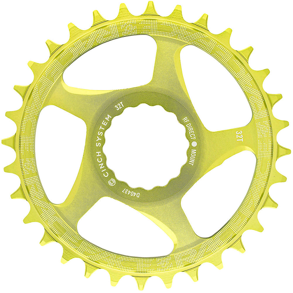 Race Face Direct Mount Cinch Narrow Wide Chainring - Green - 36t  Green
