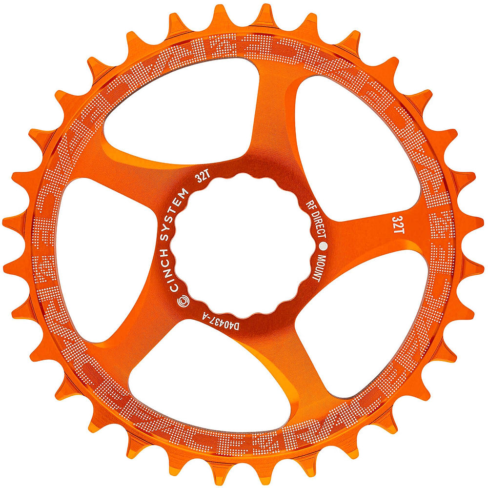 Race Face Direct Mount Cinch Narrow Wide Chainring - Orange - 36t  Orange