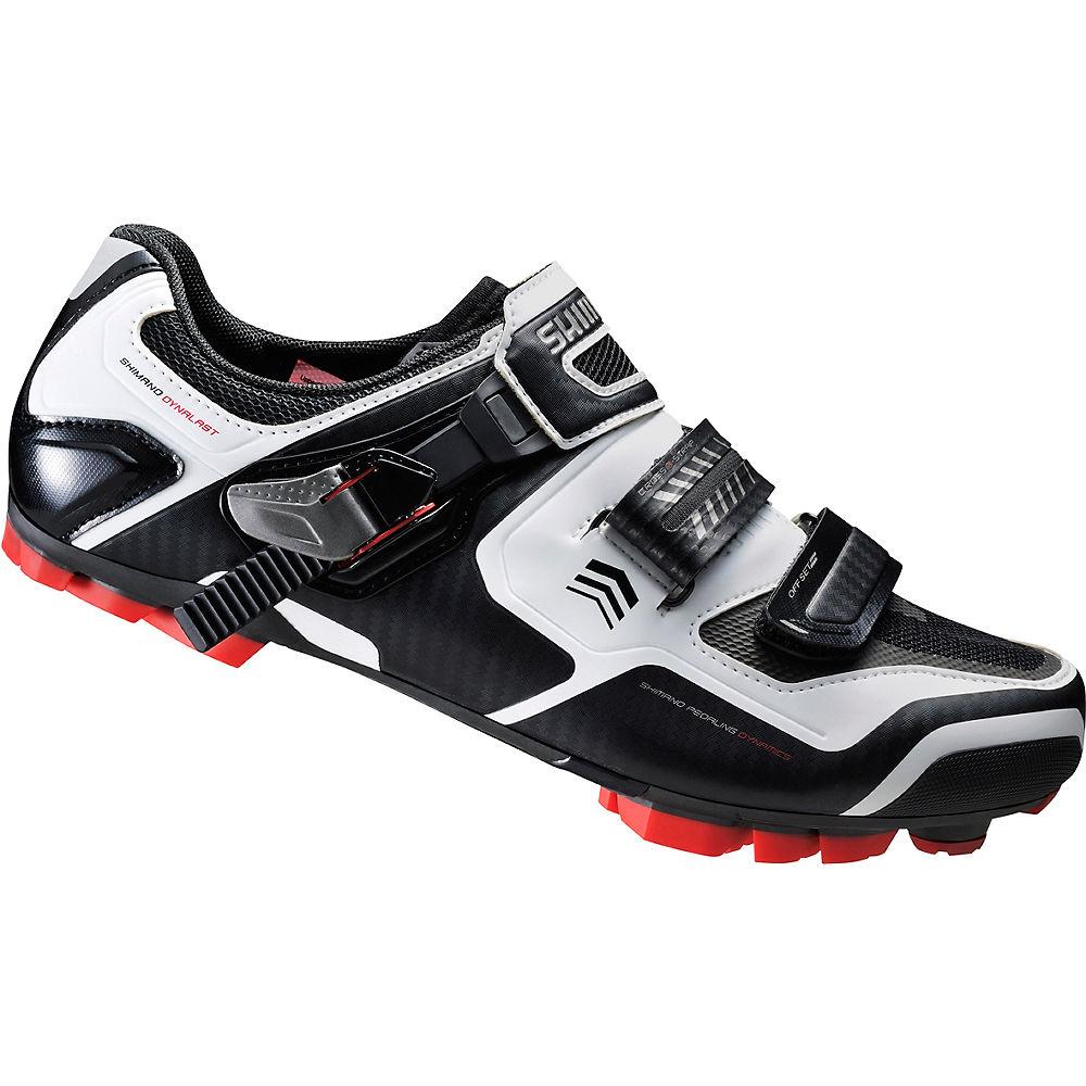 Shimano XC61 MTB SPD Shoes - White - EU 38, White
