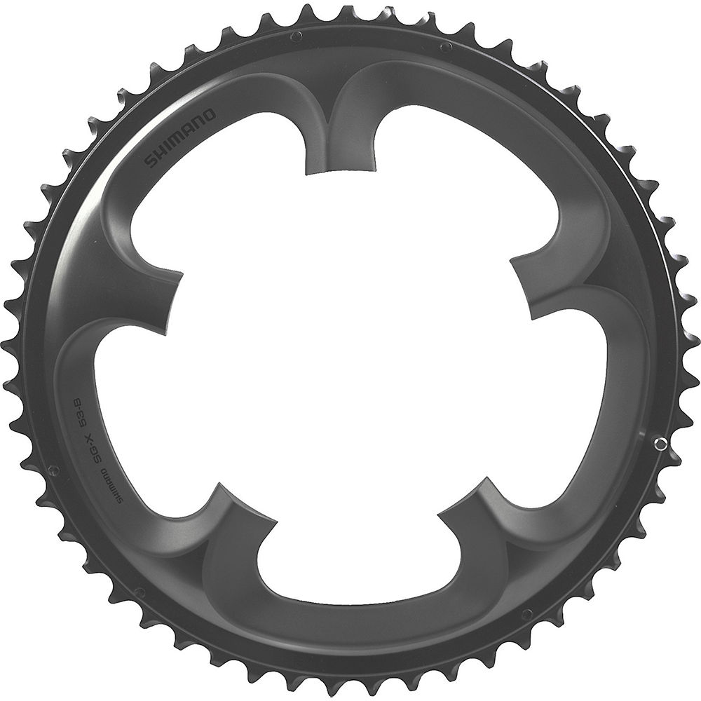 Shimano Ultegra FC6700 10 Speed Double Chainring - Grey - 130mm, Grey